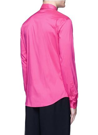 背面 - 点击放大 - MCQ ALEXANDER MCQUEEN - 燕子刺绣纯棉衬衫