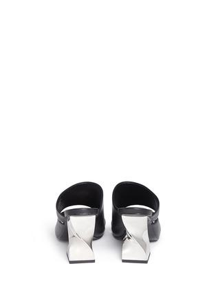 背面 - 点击放大 - OPENING CEREMONY - DINERO螺旋鞋跟镂空搭带凉鞋