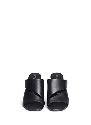 正面 -点击放大 - OPENING CEREMONY - DINERO螺旋鞋跟镂空搭带凉鞋