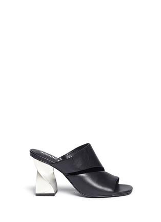 首图 - 点击放大 - OPENING CEREMONY - DINERO螺旋鞋跟镂空搭带凉鞋