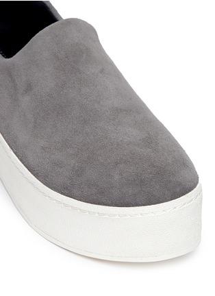 细节 - 点击放大 - OPENING CEREMONY - 绒面皮厚底便鞋