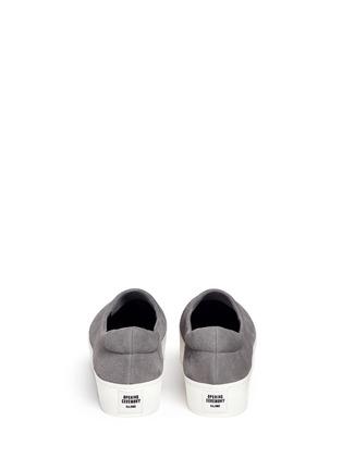 背面 - 点击放大 - OPENING CEREMONY - 绒面皮厚底便鞋