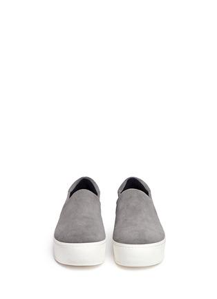 正面 -点击放大 - OPENING CEREMONY - 绒面皮厚底便鞋