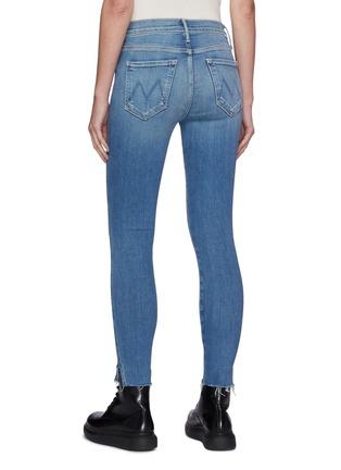 背面 - 点击放大 - MOTHER - 高腰露踝须边牛仔裤
