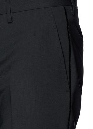 细节 - 点击放大 - LANVIN - 单色混羊毛长裤