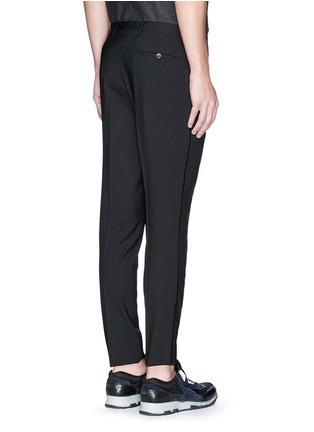 背面 - 点击放大 - LANVIN - 单色混羊毛长裤