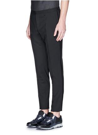 正面 -点击放大 - LANVIN - 单色混羊毛长裤