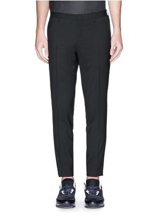 首图 - 点击放大 - LANVIN - 单色混羊毛长裤