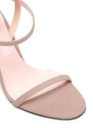 细节 - 点击放大 - PIFERI - FANTASIA闪粉缀饰高跟凉鞋