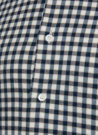- BARENA - COPPI格纹纯棉衬衫