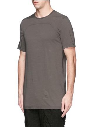 正面 -点击放大 - Rick Owens DRKSHDW - 缝线装饰纯棉T恤