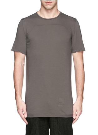 首图 - 点击放大 - Rick Owens DRKSHDW - 缝线装饰纯棉T恤