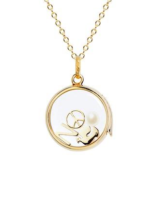 模特儿示范图 - 点击放大 - LOQUET LONDON - 生辰石-6月珍珠