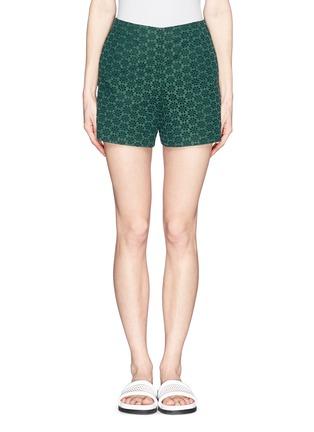 首图 - 点击放大 - MONCLER - 蕾丝短裤