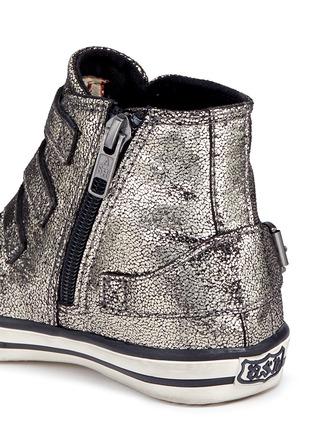 细节 - 点击放大 - 90115 - FANTA幼儿款金属裂纹高筒球鞋