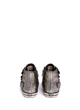 背面 - 点击放大 - 90115 - FANTA幼儿款金属裂纹高筒球鞋