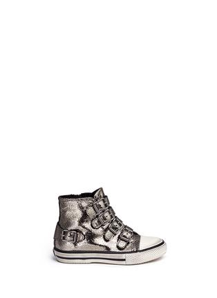 首图 - 点击放大 - 90115 - FANTA幼儿款金属裂纹高筒球鞋