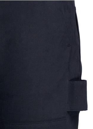 细节 - 点击放大 - SIKI IM / DEN IM - 工装感纯棉斜纹长裤