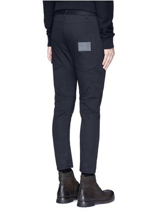 背面 - 点击放大 - SIKI IM / DEN IM - 工装感纯棉斜纹长裤