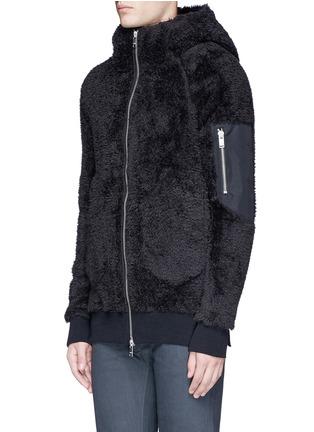 正面 - 点击放大 - SIKI IM / DEN IM - 珊瑚绒质感连帽外套