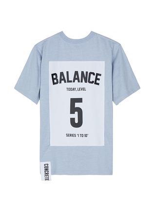 首图 - 点击放大 - STUDIO CONCRETE - 中性款心情数字纯棉T恤