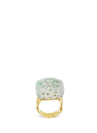 首图 - 点击放大 - SHAOO PARIS - 翡翠雕花18K金戒指