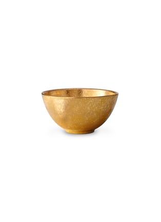 首图 –点击放大 - L'OBJET - Alchimie镀24K金餐碗