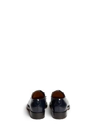 背面 - 点击放大 - VALENTINO - 真皮铆钉系带鞋