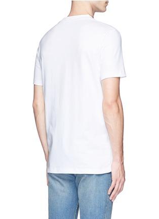 背面 - 点击放大 - MC Q - 几何胶印纯棉T恤