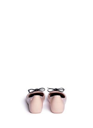 背面 - 点击放大 - MELISSA - 儿童款蝴蝶结饰果冻鞋