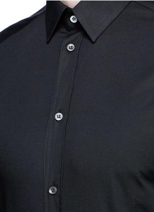 细节 - 点击放大 - DOLCE & GABBANA - GOLD单色府绸修身衬衫