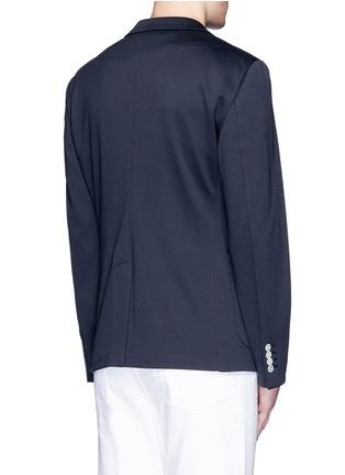 背面 - 点击放大 - DOLCE & GABBANA - 皇冠刺绣混棉西服外套
