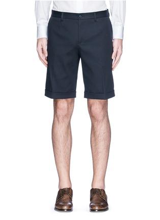 首图 - 点击放大 - DOLCE & GABBANA - 卷边裤腿棉质短裤