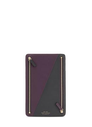 - SMYTHSON - Maddox leather currency case