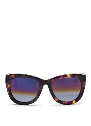 首图 - 点击放大 - MATTHEW WILLIAMSON - 拼色Wayfarer太阳眼镜