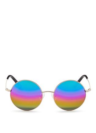 首图 - 点击放大 - MATTHEW WILLIAMSON - 金属圆框太阳眼镜