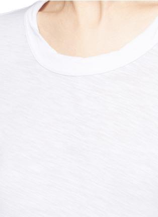 细节 - 点击放大 - JAMES PERSE - 单色纯棉T恤