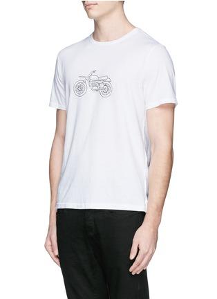 正面 -点击放大 - RAG & BONE - 摩托车印花纯棉T恤