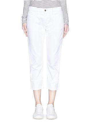 细节 - 点击放大 - FRAME DENIM - LE GRAND GARÇON单色直脚牛仔裤