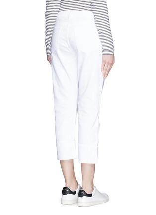 背面 - 点击放大 - FRAME DENIM - LE GRAND GARÇON单色直脚牛仔裤
