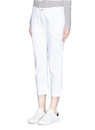 正面 -点击放大 - FRAME DENIM - LE GRAND GARÇON单色直脚牛仔裤