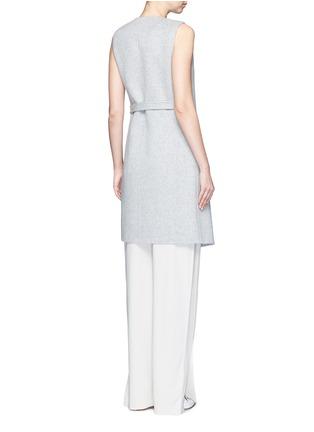 背面 - 点击放大 - THEORY - LIVWILTH DF系带裹身式连衣裙