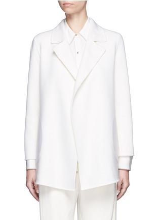 首图 - 点击放大 - THEORY - CLAIRENE羊毛混羊绒大衣
