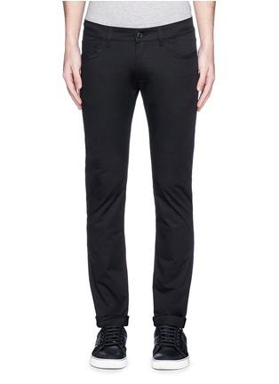 细节 - 点击放大 - DOLCE & GABBANA - STRETCH 14纯棉修身牛仔裤