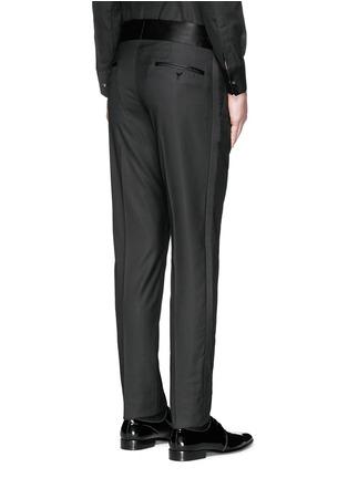 背面 - 点击放大 - DOLCE & GABBANA - 缎面裤腰礼服裤