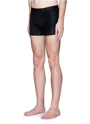 模特儿示范图 - 点击放大 - ZIMMERLI - PURENESS纯色平脚内裤