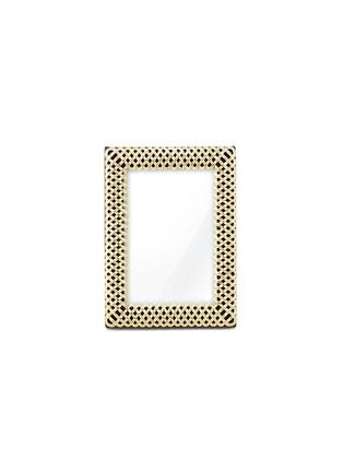 首图 –点击放大 - L'OBJET - 编织相框-金色