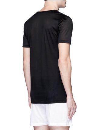 背面 - 点击放大 - ZIMMERLI - 252 ROYAL CLASSIC纯棉圆领内衣
