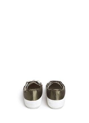 背面 - 点击放大 - PEDRO GARCÍA - PARSON缎面拼接系带运动鞋