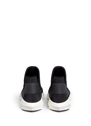 背面 - 点击放大 - ASH - QUID锯齿条纹太空棉球鞋
